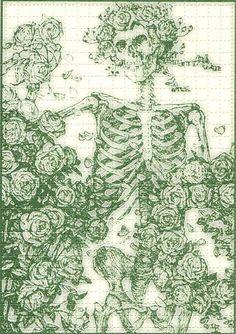 Grateful Dead blotter art