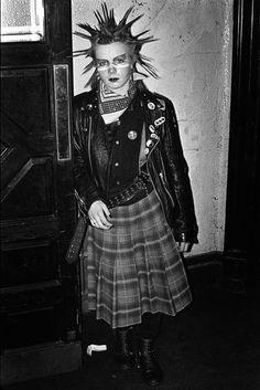 Venue in Victoria, London 1981. By Derek Ridgers.