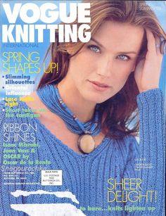 VOGUE Knitting Spring / Summer 1998 - 沫羽 - 沫羽编织后花园