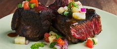 Pineapple-Chipotle Grilled Short Ribs w/ Pineapple Pico de Gallo #recipe from @tastingtable