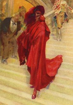 The Phantom of the Opera as The Red Death