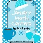 10 math centers for the month of January are now at hand! These Common Core aligned math centers fit in perfectly for the needs of your students. A...