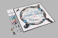 Board game Hufvudstaden, a love letter to Stockholm by Swedish board game design studio Ninja Print. Board Game Design, Game Ui, Page Layout, Love Letters, Trivia, Board Games, Ninja, Lettering, This Or That Questions