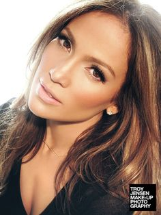 Jennifer Lopez - makeup by Troy Jensen I love the natural look this season.