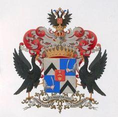 coat of arms of Count Uvarov / герб рода графов Уваровых