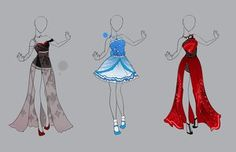 .::Outfit Adopt Set 16 (CLOSED)::. by Scarlett-Knight