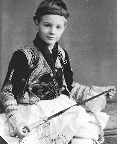 Prince of or King Leka I was born on 5 April 1939 an died… Albanian People, Young Prince, George Vi, Rare Pictures, Royal House, Prince And Princess, Black Sea, Folk Costume, Queen Victoria