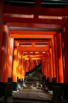 fushimi-inari kyoto, Japan