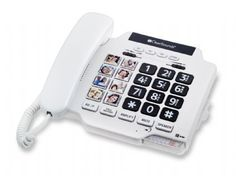 ClearSounds CSC500 Telephone with 35dB of Amplification