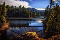 Wagon Creek Bridge by Photographer Marnie Patchett, FAA