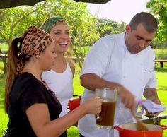 Os chefs arrasaram na cozinha do Estrelas (Foto: TV Globo)