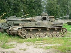 This Panzer IV Ausf G sits out in the open on the grounds of the Kubinka Military Museum in Russia. Hopefully it will be fully restored someday instead of used just for parts.