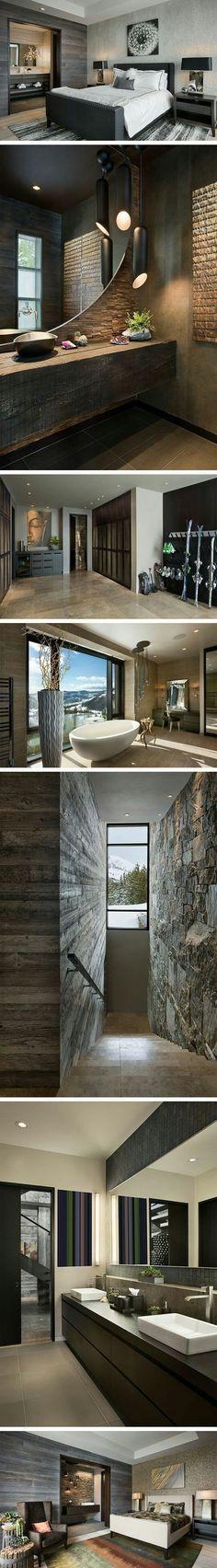 Wie wunderschön ist dieses Haus? Und man kann dort auch noch Skifahren!?