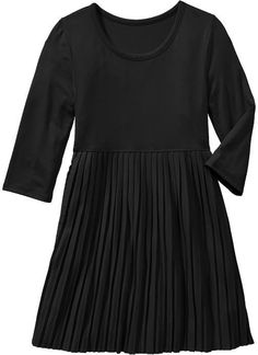 Old Navy Girls Pleated Jersey Dresses on shopstyle.com