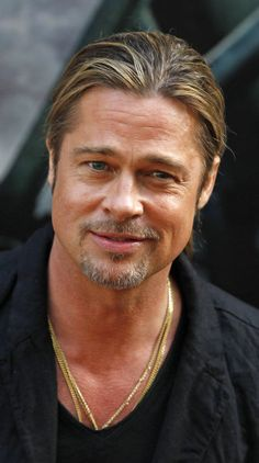 Brad Pitt, getting better with age.