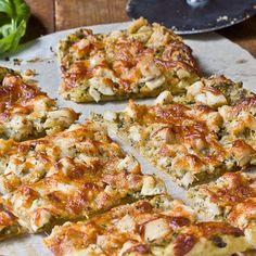 Pesto Chicken Tart - Recipes, Dinner Ideas, Healthy Recipes & Food Guide