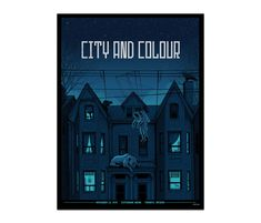 Toronto Scotiabank Arena Poster - November 2019 - Poster - Featured - City and Colour Online Store City And Colour, Color, Toronto, November, Canada, Store, Prints, Movie Posters, Colour