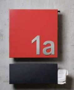 Serafini Design Briefkasten Square von Serafini - 30.7125.67X online kaufen in unserem Shop   www.besonderes-rund-ums-haus.de