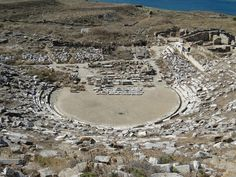 Ancient theatre of Delos