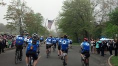 Riding for those who died! God bless all officers. Police unity tour 2014