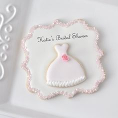 gallery of cookie plaques | This charming plaque cookie features graceful curves making the ...