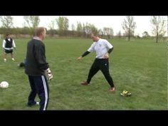 Soccer Goalkeeper Dive Training Part 5
