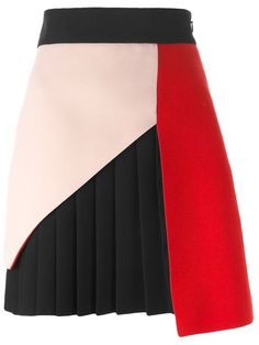 Shop Fausto Puglisi panelled pleated skirt in Julian Fashion from the world's best independent boutiques at farfetch.com. Shop 300 boutiques at one address.