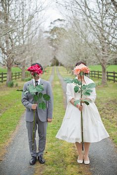 Real Wedding: Ariane and Andy's Afternoon Tea-Themed Wedding in New Zealand