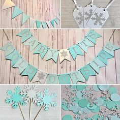 Baby Its Cold Outside Party Package, Little Snowflake Baby Shower, Winter Wonderland Party Supplies, Winter Baby Shower Decor Party in a Box Baby Shower Winter, Baby Winter, Baby Boy Shower, Snowflake Baby Shower, Little Snowflake, Baby Shower Decorations For Boys, Baby Shower Themes, Shower Ideas, Winter Wonderland Theme