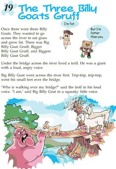 Grade 2 Reading Lesson 19 Fables And Folktales – The Three Billy Goats Gruff