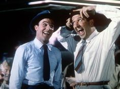 Gene Kelly and Phil Silvers