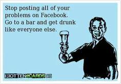 LOL PLEASE! Facebook drama