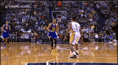 Steph Curry crossover destroys george hill