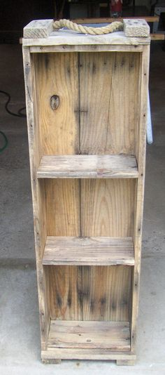 Maybe i can do this to my ammo boxes --- orginal pin Wooden Ammo Box Shelf Unit. $30.00, via Etsy.