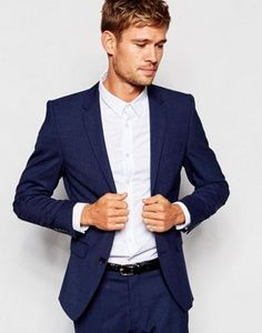 Selected Homme Travel Suit Jacket with Stretch in Slim Fit