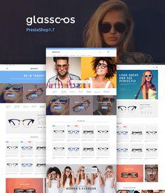 PrestaShop Theme , Glasscos