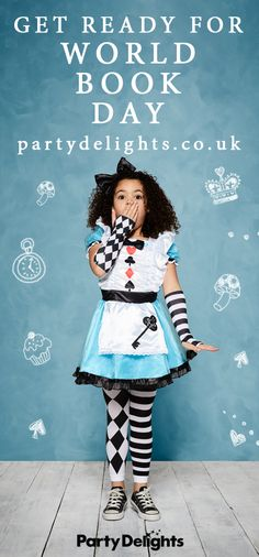 World Book Day 2018 is just around the corner! So if you're looking for World Book Day costume ideas for kids, check out our huge range of costumes at partydelights.co.uk. From Alice in Wonderland and Roald Dahl to Harry Potter, the Gruffalo and David Walliams, we've got all the inspiration you need for a brilliant book character costume. Book Costumes, World Book Day Costumes, Book Character Costumes, Book Week Costume, Cat Costumes, Costume Ideas, Cosplay Costumes, Halloween Costumes, World Book Day Characters