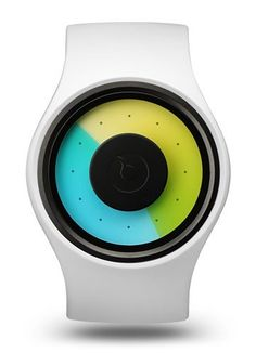 Ziiiro Aurora Snow Watch - Love the idea and the colors :)