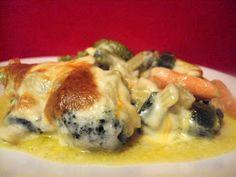 The Gab Housewife Chronicles: Cheesy Veggies Casserole