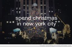 NYC Bucketlist: Spend Christmas in the city