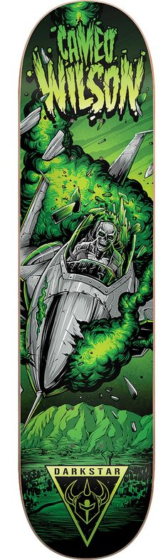 Darkstar Cameo Wilson Resin 7 Crash Skateboard Deck