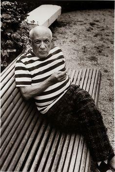 Bildresultat för pablo picasso striped shirt