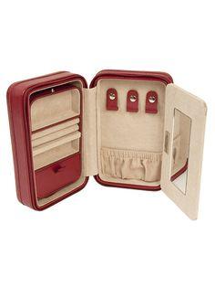 Wolf Designs Inc. Red Travel Jewelry Bag - $40.00 (wait list)