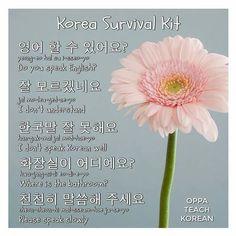 Korean Language 457467274649644121 - image Source by sahra_k Language Study, Language Lessons, German Language, Japanese Language, Spanish Language, French Language, Learn Basic Korean, How To Speak Korean, Korean Phrases