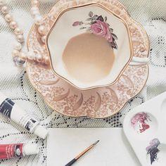 Paragon teacup and saucer circa Teacups, Antique Items, Coffee Cups, No Response, Tea Pots, 1960s, Handmade Items, Mugs, Etsy
