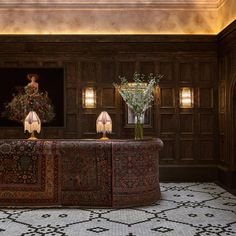 Carpet on desk - The lobby at The Beekman, NY is up for 2017 nomination - Shortlist revealed for inaugural AHEAD Americas hospitality awards