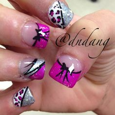 pink & silver with design & bows! absolutely love!