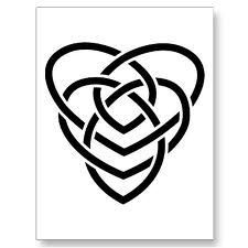 Celtic symbol for motherhood. I would add one topaz/gold colored dot in the middle to represent Alex, born in November
