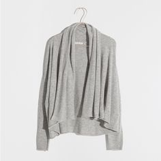 GRAY CARDIGAN - Clothing - Woman - Loungewear & shoes | Zara Home United States of America