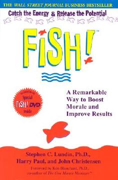 : A Remarkable Way to Boost Morale and Improve Results by Harry Paul, John Christensen and Stephen C. Lundin Hardcover) for sale online Good Books, My Books, Books To Read, Fish Philosophy, Ken Blanchard, Dental Hygiene School, Dental Teeth, Staff Morale, Employee Morale